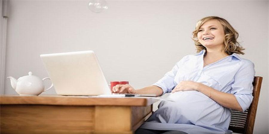Sức khỏe cho thai phụ làm việc văn phòng